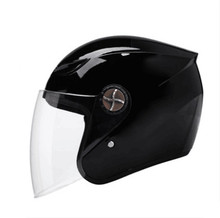 New Four Seasons Vintage Motorcycle Helmets Open Face Half Motorbike Single visor Helmet Capacete factory price open helmet(China)