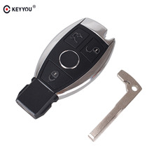 KEYYOU 3 Buttons Smart Remote Key for Mercedes Benz with NEC Chip 315MHz Optional Supports Car Models After Year 2000