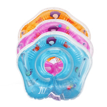 2018 swimming inflatable baby boat conformation infant baby neck float tube ring swimming pool neck bathing circle float ring(China)