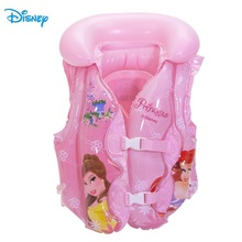 Disney Frozen Princess Child Safety Life Vest Inflatable Water Sports Protection Kid Swimming Suit Outdoor Sport D702007(China)