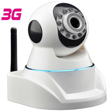 Latest version of 3G Mobile PTZ IP Camera with HD 720P Video Transmission via 3G Network & Cloud Server for Remote Recording(China)