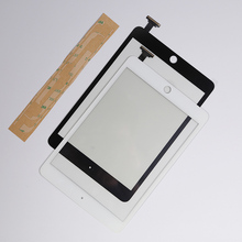 Touch Screen Digitizer with Flex cable Repair For iPad Mini 1 A1432 A1455 &  mini 2 A1489 A1490 Without IC Chip