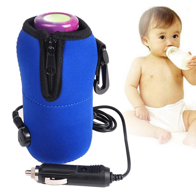Portable DC 12V Car Baby Bottle Heater Portable Food Milk Travel Cup Warmer Heater 2016 New