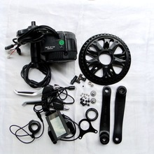 Free Shipping 36V 500W C965A/P850C LCD BBS02 8FUN / Bafang Electric bicycle Motor Crank Motor ebike Kit
