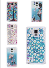 5 Colors Beautiful Fashion Glitter Stars Bling Quicksand Hard Back Case Cover for SAMSUNG Galaxy S5 ECA239(China)