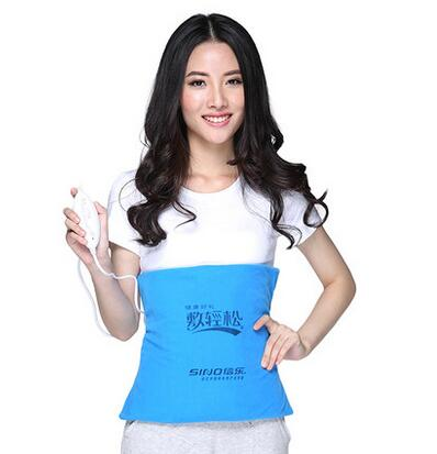 New Arrival Electric far infrared heating pad waist and body care mat Abdominal belt PY125<br>