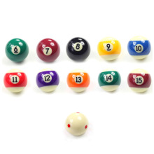 Single Billiard Balls 57mm Size Pool 16 Colors Billiards Accessories China 2016(China)