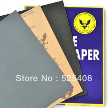 20pcs/pack sandpaper sand paper Wet and Dry Sandpaper Abrasive Water proof Paper Sheets free shipping