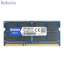 Brand New Sealed Reboto PC3-12800 DDR3 4 GB 8GB1600MHZ Laptop Memoria RAM compatible con toda la placa madre/Envío Libre!!!