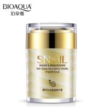 BIOAQUA Brand Snail Essence Face Cream Collagen Moisturizer Facial Skin Care Ageless Anti Winkles Whitening Day and Night Creams(China)