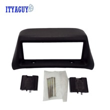 Newest Double 2Din Car Radio Fascia for MITSUBISHI LANCER 1996-1997 DVD Player Trim Installation Kit Plate Frame