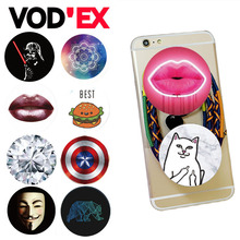 VODEX Round POP Fashion New Design Phone Holder For Smart phone Air stander For iPhone Samsung For iPhone 7  Huawei  Portable