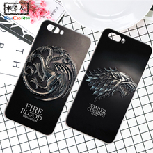 ShuiCaoRen Silicone Case For ZTE Nubia M2 Retra Game of Thrones Cover Phone Coque Ice and Fire Fundas For Nubia M2 Lite(China)