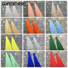 GUFEATHER/10cm Silk tassel/jewelry accessories/accessories parts/jewelry findings & components/jewelry findings/embellishments