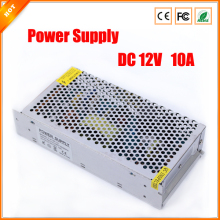 High Quality 12V 10A 120W Switch Switching Power Supply for CCTV Camera For Security System 110-240V