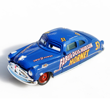 Disney Pixar Cars 2 Doc Hudson 1:55 Scale Diecast Metal Alloy Modle Brio Cute Toys For Children Gifts Cartoon Movies Car(China)
