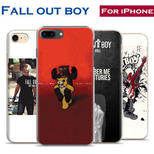 Fashion Rock Band Fall Out Boy Originality Phone Case Cover Shell Phone For Apple iPhone 7PLUS 7 6SPLUS 6S 6PLUS 6 5 5S SE 4S 4