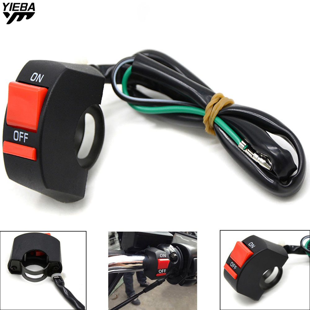 Universal Motorcycle Handlebar With ON/OFF Light Switch Button FOR bmw F800S F800ST 04-15 K1200R K1200R SPORT K1200S R1200GS