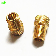Copper road bike bicycle valve adapters wind fire wheels adapters gas nozzle air valve Conversion head Converter TL0201