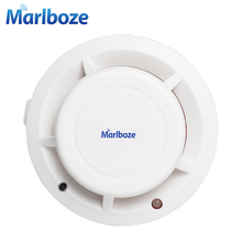 Free Shipping 1pcs Wireless Photoelectric Smoke Fire Detector for Wireless Home Security Auto Dial Alarm System Smog Sensor(China)