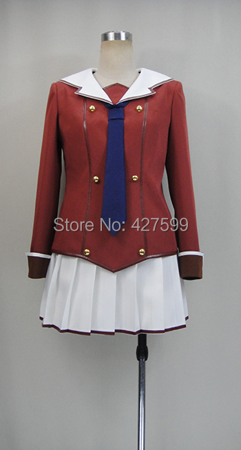 New Arrival When Supernatural Battles Became Commonplace Tomoyo Kanzaki Uniform Cosplay Costume