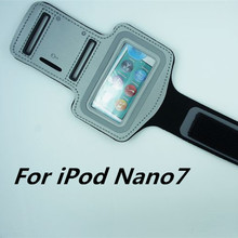 HOT Waterproof Genernal Style PU Leather Case For apple ipod nano 7 Running Arm Band For iPod nano7 Cell Phone Cases(China)