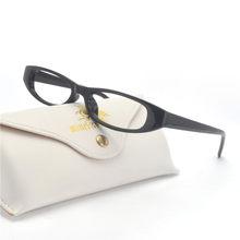 Mincl 2019 Retangular Pequena Laranja Óculos De Sol Das Mulheres de Design  Da Marca Do Vintage Cristal preto Estreito Quadro vid. 3986895398