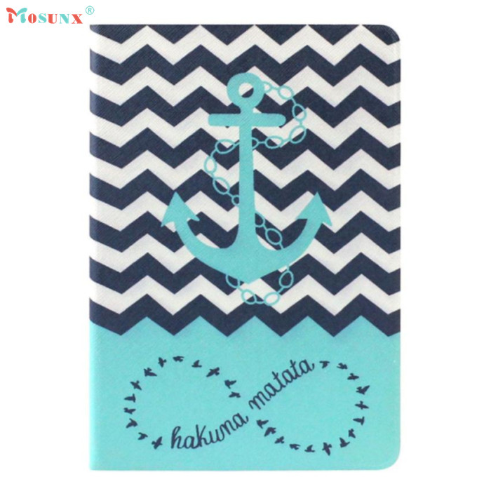 Top Quality Hot Selling Fashion Design Anchors Pattern Flip Stand Leather Case Cover for ipad mini 2 Retina JUL 12<br><br>Aliexpress