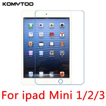 "9H 0.3mm 2.5D For Apple ipad mini 1/2/3 7.9"" Explosion Proof Tempered Glass Film Tablet PC Screen Protect Cover(China)"