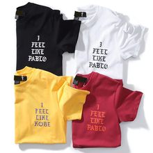 Buy 2018 Summer T Shirts Men Bts Tops Feel Like Paul Season 3 Male Tops Tees Kanye West Hip Hop T-Shirt Men Women Fear God Tee for $5.91 in AliExpress store