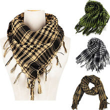 Army Scarves Military Tactical Keffiyeh Shemagh Arab Scarf Shawl Neck Cover Head Wrap Scarf(China)