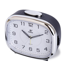 POWER Brand Digital Alarm Clock Quartz Snooze Movement Alarm Clock Modern Timer Silent Desktop Table Clock Bell Ring(China)