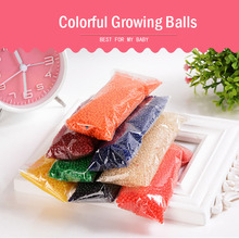 2.0mm to 2.5mm Crystal Soil/Aqua Beads/Sea Baby Grow Up Hydrogel Water Balls  10000PCS/lot Wedding Home Decoration