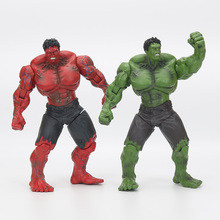 "Red Hulk 10"" 26cm Action Figure PVC Figure Toy Hands Adjusted Movie Lovers Collection(China)"