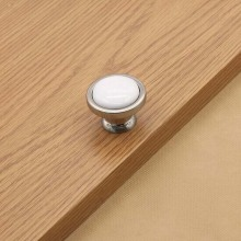 kitchen cabinet pull handle white ceramic drawer knob pull stain silver dresser cupboard furniture door knobs handles pulls