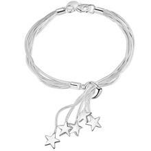 SALE CYPRIS best selling item fashion silver plated bracelet charm chain wholesale factory price women girl cute chic fancy(China)