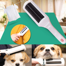 Electrostatic Static Cloth Lint Dust Dog Pets Hair Cleaner Remover Brush Sweeper(China)