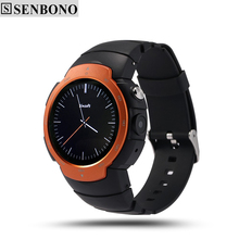 Senbono Z9 Smart Watch phone Android 5.1 OS MTK6580 Quad Core smartwatch phone support SIM Card 3G WIFI GPS Google Heart Rate