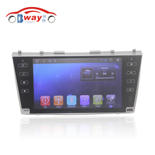 "Free shipping 9"" car Radio for Toyota Camry AURION V40 2006 2007 2008 2009 2010 2011 android 6.0 Car DVD GPS with 1G RAM 16G ROM(China)"