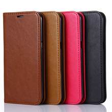 For Samsung S7 G9300 Lamb Skin Texture Wallet PU Leather Phone Bag Case with Magnetic Absorption Business Cover Free Shipping(China)