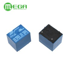I201 20pcs 5V DC SONGLE Power Relay SRD-05VDC-SL-C PCB Type(China)