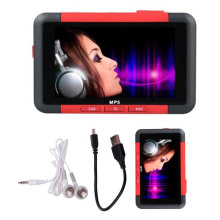 "Mayitr New Arrival MP4 Red Players 8GB Slim MP3 MP5 Music Video Movie Media Player FM Radio For 4.3"" LCD Screem"