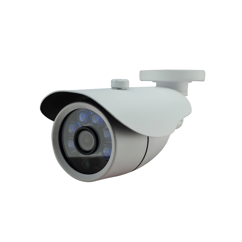 AHD CCTV 720P 1.0MP HD Wired Camera with OSD menu Security Waterproof Metal CCTV 6 blue LEDs Night vision<br><br>Aliexpress