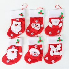 2pcs/Set Christmas Tableware Covers Decoration for Tablewares Collection Satorage Christmas Holding Bags for Tableware New 2017