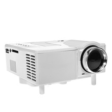 UC28 Portable Mini HD LED Projector Beamer Cinema Theater Support PC Laptop VGA/ USB/ SD/ AV/ HDMI GM40 For Home