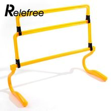 relefree Hot Removeable Football Training Sports Tool Mini Hurdle Jump Running Sensitive Soccer Speed Useful(China)