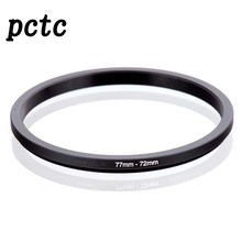 PCTC 2PCS 72mm-77mm 72 to 77 Macro Reverse Ring Filter Adapter for 72 to 77 mm lens Mount For extension tubes adapter