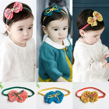 Hair Accessories For Kids!! Kids Girls Star Bow Hairband Headband Turban Knot Head Wraps With 3 Colors(China)