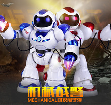 New Jxd1029 Innovative multifunctional rc fighting humanoid intelligent X Men AlBott robot charge toy model Sing dance missile(China)
