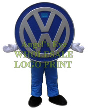 car logo mascot costume adult size wholesale custom commercial advertising costumes walking dolls performing fancy SW2923